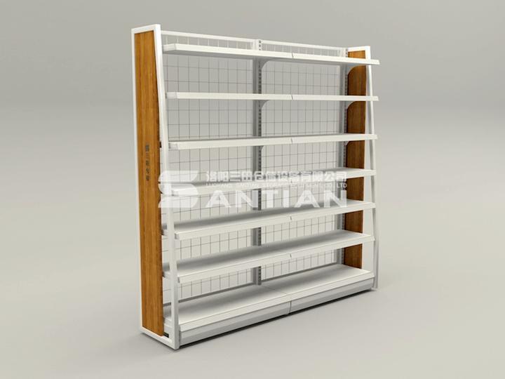 ST-A011 便利店货架-木侧版