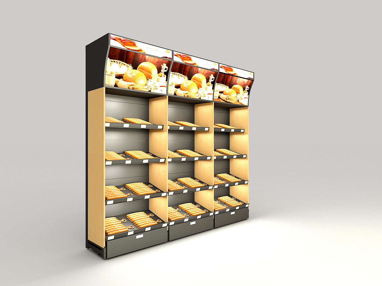 精品食品货架
